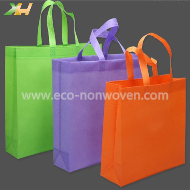 Factory offer various colors resuable non woven shopping bag