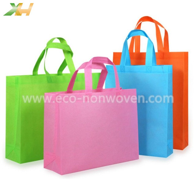 Factory produce colorful pp spunbond non-woven bag