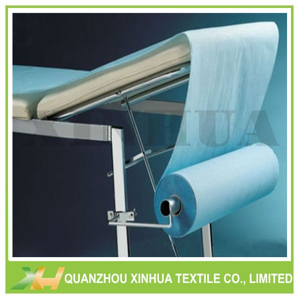 Blue Color Pre-cut PP Nonwoven Fabric for Bedsheet