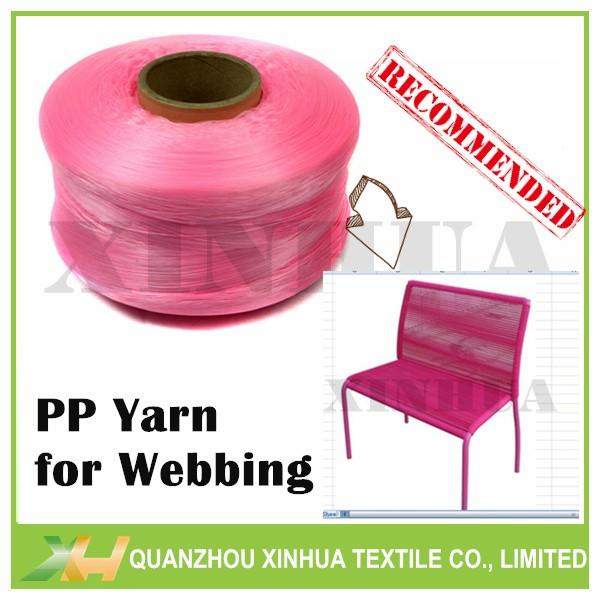 900D/600D/300D Polyproylene PP Yarn for Webbing