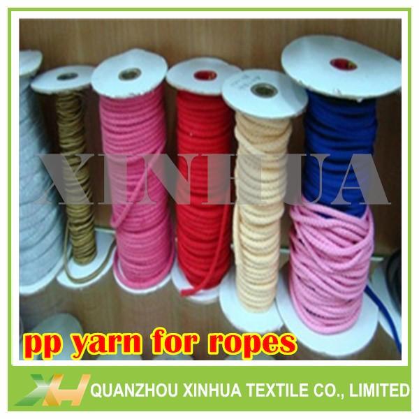 Non-intermingled Polyproylene PP Yarn for Ropes