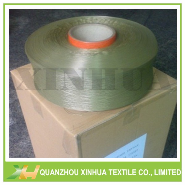 Army Green Polyproylene PP Yarn FDY 300D-1200D