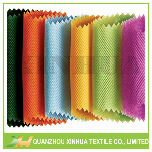 100%PP Spunbond Nonwoven Fabric Colorful