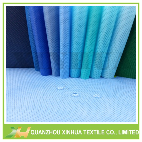 All kinds of blue color pp spunbond nonwoven fabric