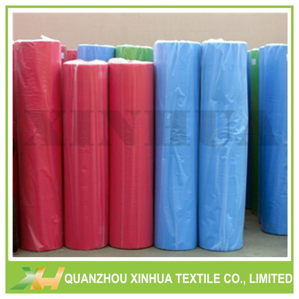 Colorful Spunbonded PP Non Woven Fabric Rolls