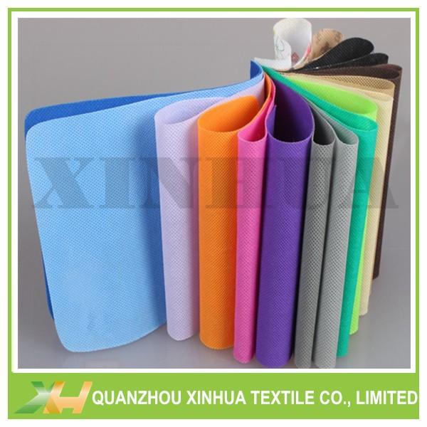Colorful polypropylene spunbond non woven fabric