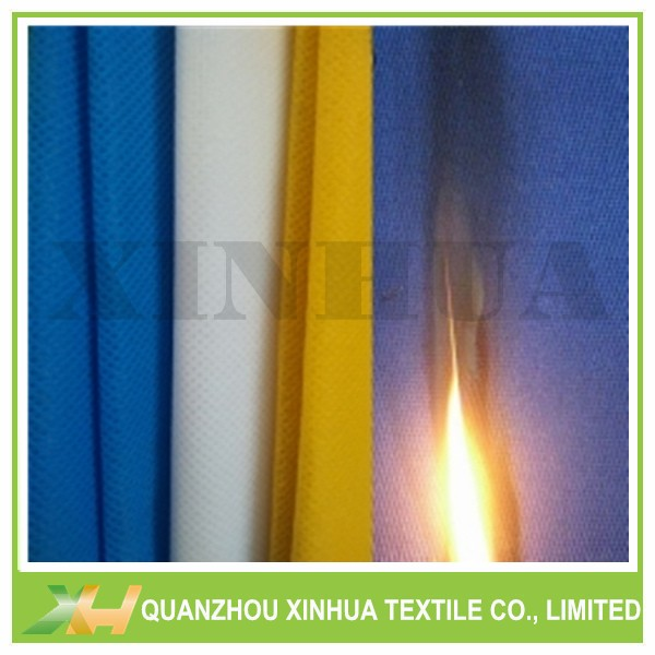 Flame Retardant 100% PP Spunbond Nonwovens Farbic