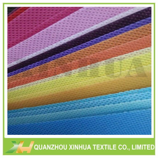 Mult-Color PP Spunbond Non Woven Fabric for Bags