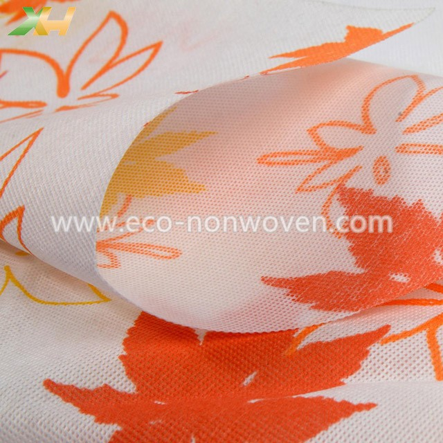Customized polypropylene spunbond printing non woven fabric