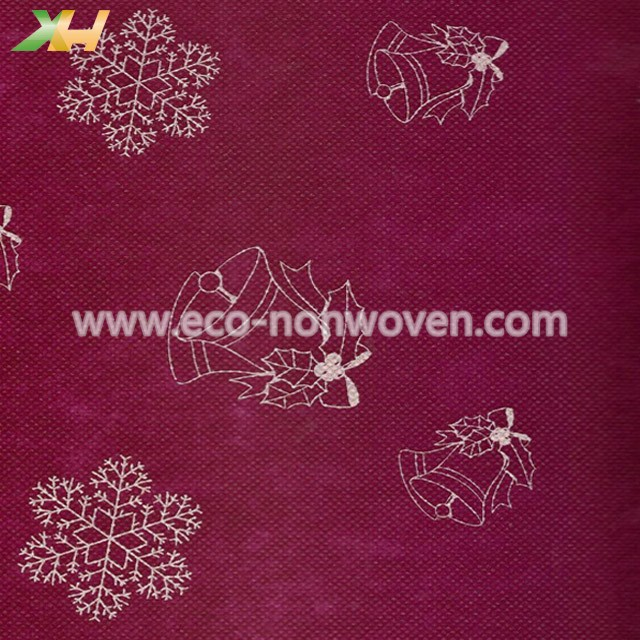 Flower Design Printing PP Spunbond Nonwoven Fabric for Table Covers