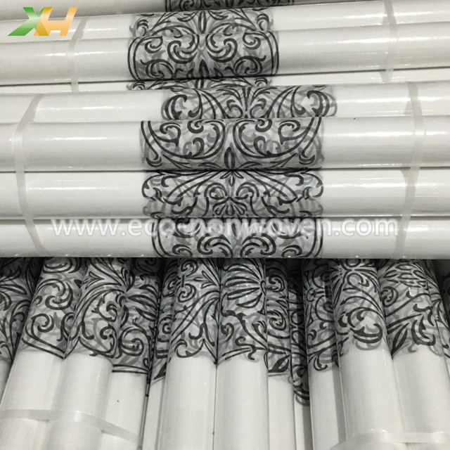 Polypropylene spunbond non woven print nonwoven table roll