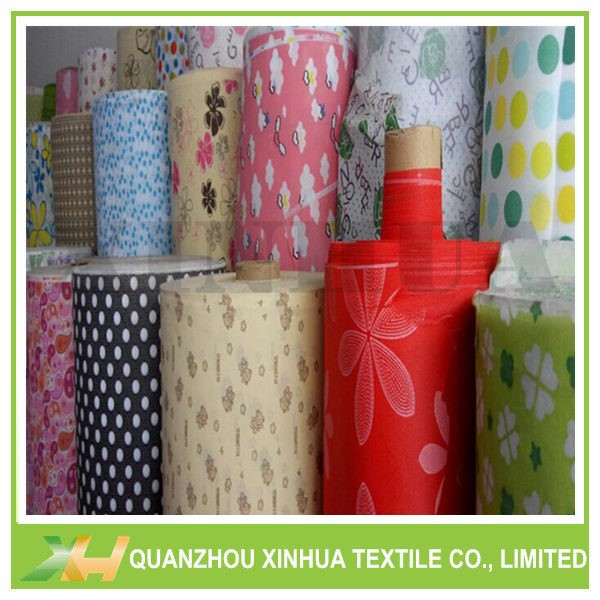 Vivid Printed PP Spunbond Nonwoven Fabric