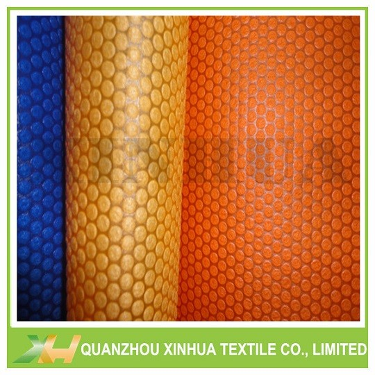 Big Bubble Dot Emboss PP Spunbond Nonwoven Fabric for Bags, Storage Box, Wardrob