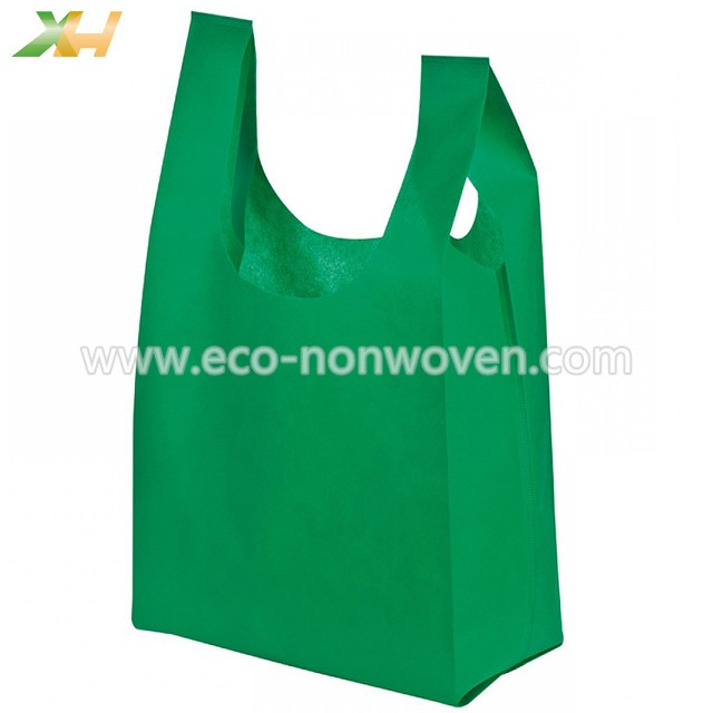 Cheap Prices Non Woven Vest Bag for Kenya and Philippines Market