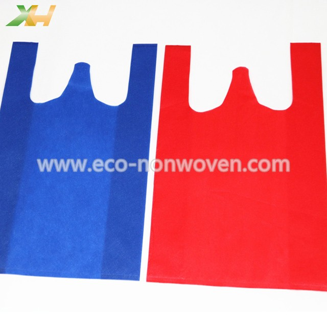 Kenya & Philippines Hot Sell 40gsm Polypropylene t-shirt non woven bag